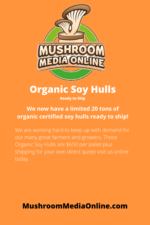 Organic Soy Hulls